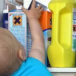Vergiftigingen baby